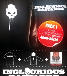 Pack T-shirt + Sweat Inglourious Bastardz